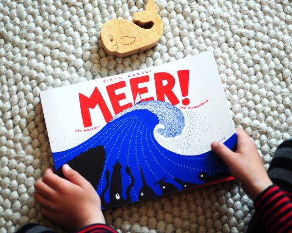Kinderbuch: Meer! - Titelseite