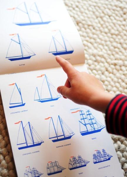 Kinderbuch: Meer! - Segelboote