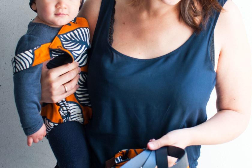 Sewandmore Tasche und Sommerromper